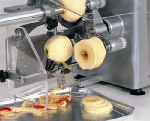 Artisans machines peler et trancher les pommes - Machine pour ramasser les pommes ...